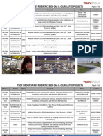 TROY Oil&Gas References - PDF File