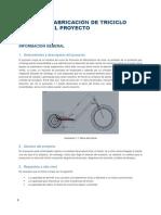 Proyecto Fabricación de Triciclo