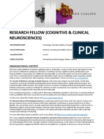 PD - Research Fellow (Cognitive and Clinical Neurosciences) 586930