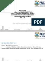 Aula 22 Construção Instalações 2 Hidro Sanitárias Esgoto Sanitário 2018 1