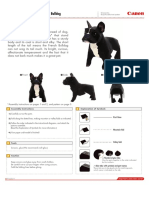 Bulldog Francés papel