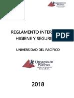Trabajo Grupal Reglamento de Universidad Pacifico