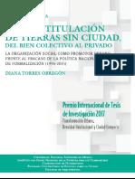 1- Lima Titulacion de Tierras Sin Ciudad. Del Bien Colectivo Al Privado