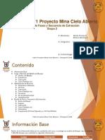 Presentación - Planificación y Diseño Mina Cielo Abierto