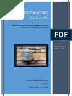 Informe Patrimonio Cultural