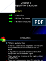 Chap6-Digital Filter Structures