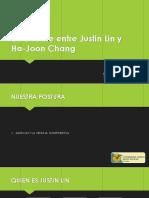 DEBATE JUSTIN LEE Y HA JOON CHANG