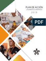 Lineamientos Plan de Acción 2019 V3