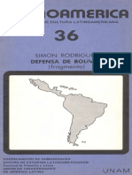Defensa de Bolívar_Simón Rodriguez
