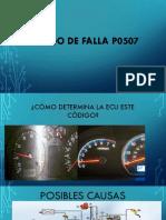 Codigo de Falla p0507