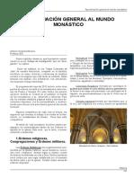 Aproximacion General Al Mundo Monastico. Antonio Arrebola Moreno