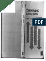 LIVRO Comportamento Administrativo - Herbert Simon