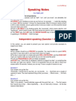 ISO 8859 1 Speaking Notes