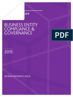 Business Compliance Governance Essentials Reference Book 2015