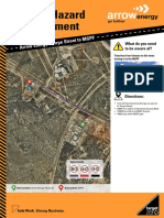 Route Hazard Assessment - Thorpe St to the MGPF