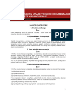 Pravilnik o Sadrzini i Nacinu Izrade Tehnicke Dokumentacije Za Objekte Visokogradnje
