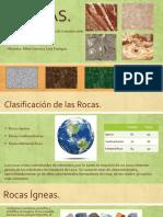 Presentación Materiales Rocas