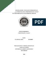 Sterilisasi Dan Desinfektan,m.sadiqul Iman (h1e108059)