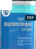 1000 Tests Psychotechniques