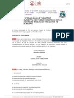 Lei Complementar 82 2003 Foz Do Iguacu PR Compilada [23!07!2018]