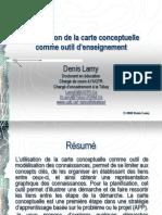 Introduction de La Carte Conceptuelle Comme Outil d'Ensignement