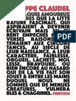 Claudel [Philippe] - De Quelques Amoureux Des Livres