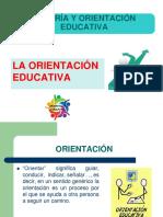 La Orientación Educativa