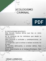 Psicologismo Criminal
