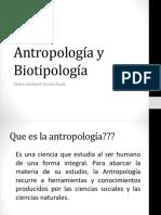 Antropología y Biotipología