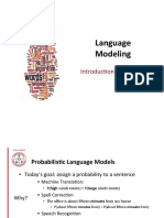 Lecture 2 - Language Modeling