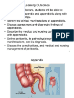 Appendicitis and Peritonitis 1