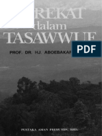 TAREKAT DALAM TASAWWUF - PROF. DR. HJ. ABOEBAKAR ATJEH