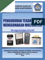 Bahan Ajar Anggoro Dwi Listyanto (Menjelaskan Pemakaian Alat-Alat Ukur Listrik Dan Elektronika)