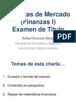 2018 03 Finanzas de Mercado - FI - Charla ET