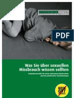 Broschuere Sexueller Missbrauch Antonio Stiftung 2010