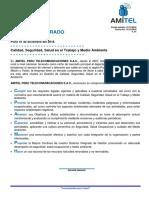 SGI-POL-001 Politica Del Sistema de Gestión Integrado Amitel