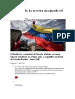 De Venezuela_ La Mentira Mas Grande Del Mundo