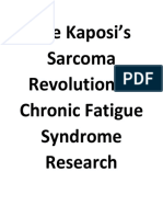 Kaposi's Sarcoma in Chronic Fatigue Syndrome Patients