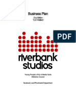 Report 11 - River Bank Application - Business Plan