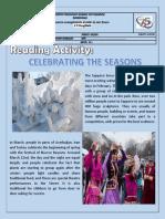 Celebreatin the Season