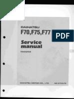 Transmisi daihatsu f70