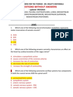 Clinical Anatomy - Thoracic