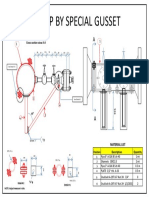 Clamp by Special Gusset Schematic