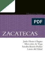 Autores Varios. Zacatecas. Historia Breve.