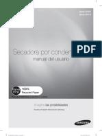 manual secadora por condensacion samsung modelo dv4000