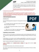 L2 -Understanding Essay Questions-T