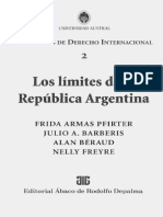 Pfirter, Barberis, Béradu, Freyre - Los Límites de La Rep. Argentina