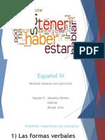 Slides Espanhol.iv verbos