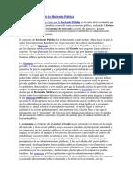 Resumen e Historia de La Hacienda Pública