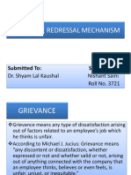 GRIEVANCE REDRESSAL MECHANISM NISHANT SAINI (1).pptx